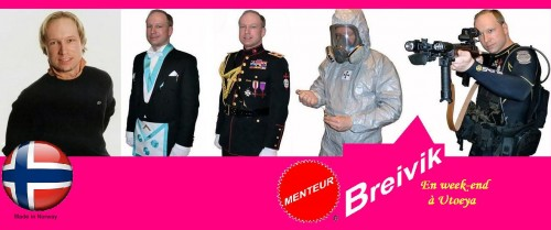 Breivik, norvège, Utoeya,